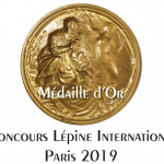 helpp-life Medaille OR concours Lépine 2019