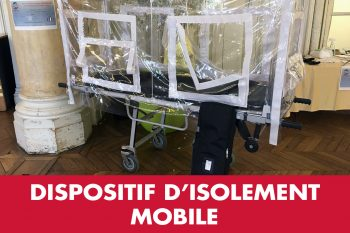 Helpp-Life Dispositif d'isolement mobile